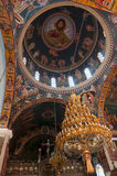 Orthodox church interior Stock Photo