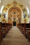 Orthodox church interior. Romania Stock Photography