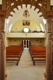 Orthodox church interior. Romania Royalty Free Stock Photos