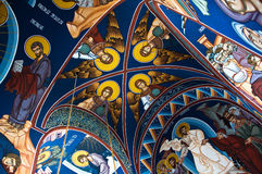 Orthodox church interior Royalty Free Stock Photography