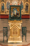 Orthodox Church Interior. At Sibiu Romania Royalty Free Stock Photos