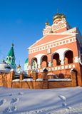 Orthodox church - Izhevsk Stock Images