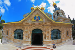 Orthodox Church  in Jerusalem Stock Photos