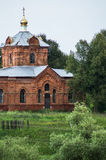 The Orthodox Church in the Kaluga region of Russia. In Russia, the main attraction are Orthodox cathedrals, churches and monasteries. They are made in the Royalty Free Stock Images