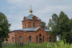 The Orthodox Church in the Kaluga region of Russia. In Russia, the main attraction are Orthodox cathedrals, churches and monasteries. They are made in the Stock Image