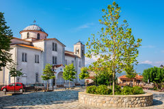Orthodox Church in Kastraki village. Greece Stock Photography