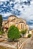 Orthodox church in Kavala Stock Photos