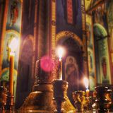 Orthodox Church in Kiev Ukraine Stock Image