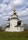 Orthodox church in Kishleevo village, Russia Stock Photography