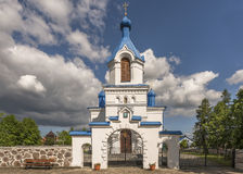 Orthodox church in Kleszczele, Poland Royalty Free Stock Images