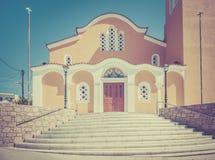 Orthodox church on Kos island Stock Image