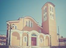 Orthodox church on Kos island Stock Images