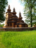 Orthodox church in Kwiaton. Royalty Free Stock Images
