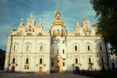 Orthodox Church Kyiv, dome, cupolas, Kiev-Pechersk Lavra. Eastern europe Stock Image