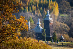 Orthodox church in Leszczyny, Poland Royalty Free Stock Photography