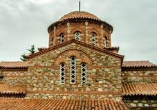 Orthodox Church of Macedonia. Monastery of St. Leontius, Vodocha, Macedonia Stock Photo