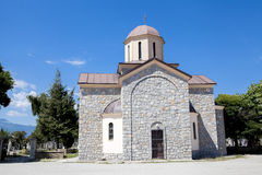 Orthodox Church Macedonia. This is a picture of a small Orthodox Church in Macedonia Stock Image