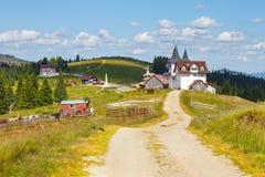 Orthodox church in Manastirea Prislop, Romania Royalty Free Stock Image