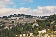 Orthodox church of Mary Magdalene Royalty Free Stock Image