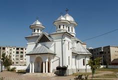 Orthodox church in Matasari , Romania Stock Photos
