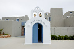 Orthodox Church in the middle of resort Stock Photos
