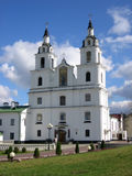 Orthodox church in Minsk. Church of Saint Spirit - the main Orthodox church in Belarus Stock Images