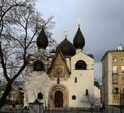 Orthodox Church and monastery. Photographed close up Stock Images
