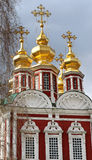 Orthodox Church and monastery. Photographed close up Royalty Free Stock Photos