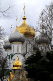 Orthodox Church and monastery. Photographed close up Royalty Free Stock Image