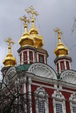 Orthodox Church and monastery. Photographed close up Royalty Free Stock Images