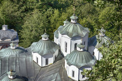 Orthodox church and monastery, St.Joachim Osogovsk Royalty Free Stock Photo