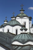 Orthodox church and monastery, St.Joachim Osogovsk Royalty Free Stock Photos
