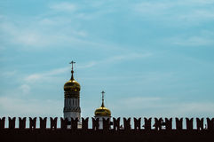 An Orthodox Church in Moscow. Royalty Free Stock Photos