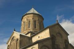 Orthodox church, Mtskheta. Dome of Samtavro Transfiguration Orthodox Church in Mtskheta, Georgia Stock Photography