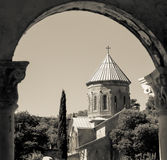 Orthodox Church in Mtskheta Stock Image