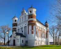 Orthodox Church in Murovanka village, Grodno region, Belarus. Stock Images