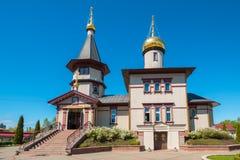 Orthodox church. Narva, Estonia, EU Royalty Free Stock Image
