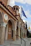 Orthodox church in Nea Vrasna Stock Photos