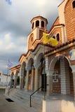 Orthodox church in Nea Vrasna Royalty Free Stock Photography