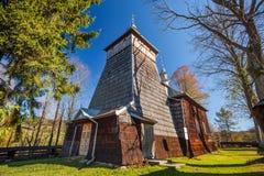 Orthodox church in Nowica, Poland Stock Photos