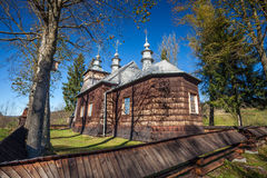 Orthodox church in Nowica, Poland Royalty Free Stock Photography