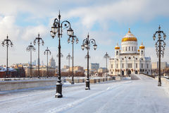 Orthodox Church Of Christ The Savior In Moscow Royalty Free Stock Images