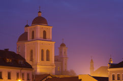 Orthodox Church Of The Holy Spirit In Vilnius, Lithuania) Royalty Free Stock Images