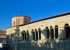 Orthodox church in Ohrid, Macedonia stock image
