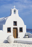 Orthodox church in Oia Stock Image