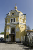 The Orthodox Church in the Old and the Byzantine style in the center of Kiev, Ukraine. Stock Photo