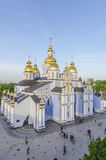 The Orthodox Church in the Old and the Byzantine style in the center of Kiev, Ukraine. Royalty Free Stock Photos