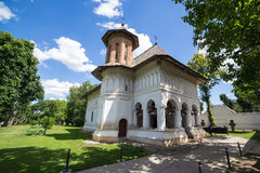 Orthodox church. Old orthodox church in a sunny day royalty free stock image