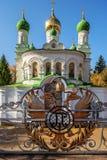 Orthodox Church On The Battlefield Battle Of Poltava Stock Photo