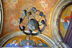 Orthodox church paintings,Sofia Stock Image